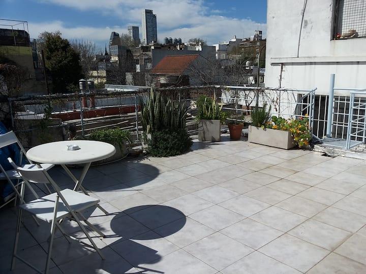 PH con terraza en PALERMO HOLLYWOOD!