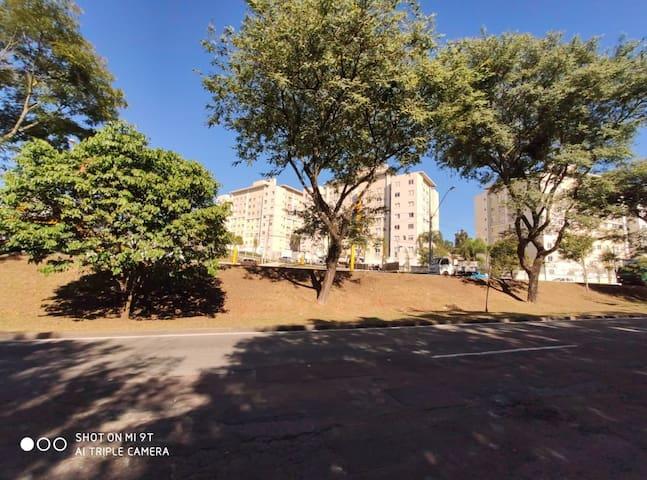 Apartamento aconchegante II perto do Sindacta e PF