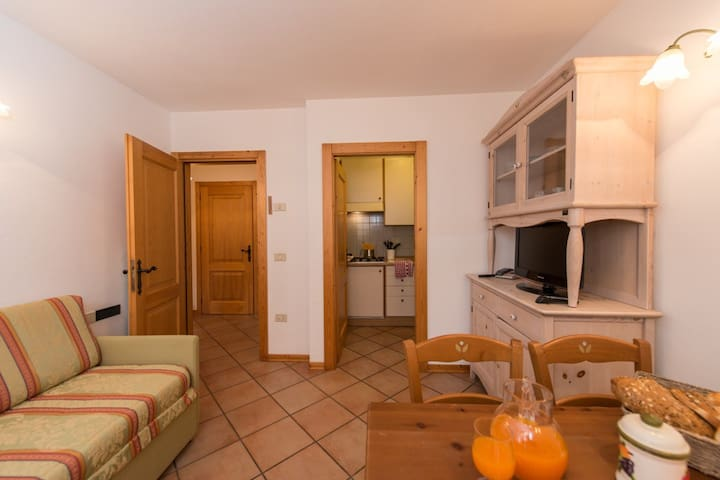 2-rooms Flat close to the lake - Molveno