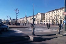 the beautiful city of Turin!