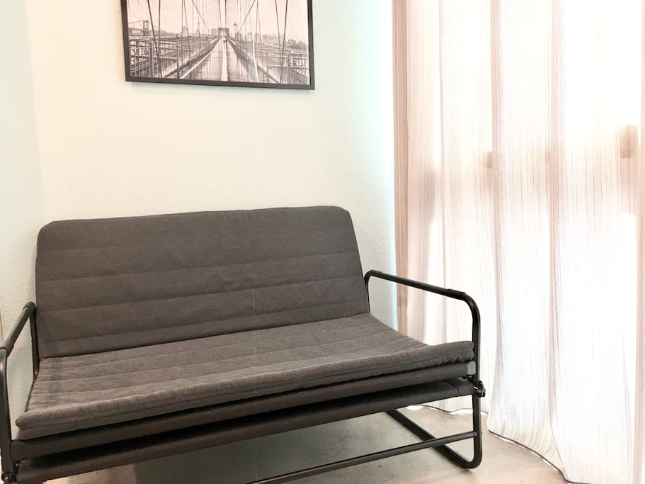 Sitting area or sofa bed