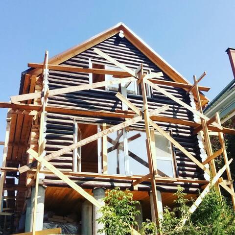 Срубовой дом в Волжском