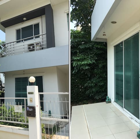 15 minutes from Suvarnabhumi Airport, privacy