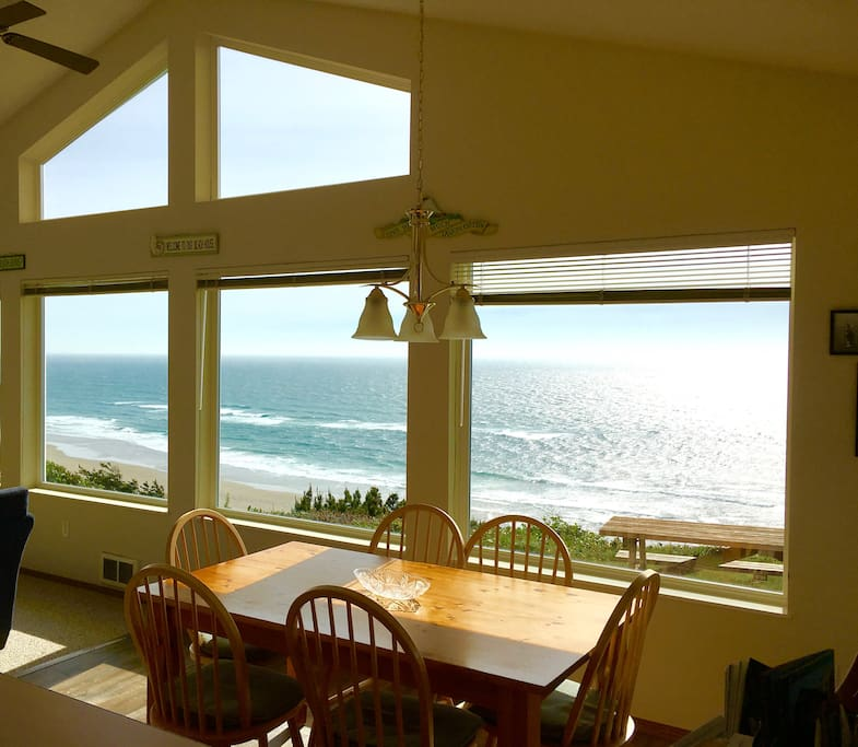 The Dining Room View!
