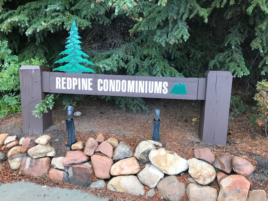 Located at the Red Pine Condominums
