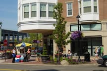 Crocker park; there's so much to do here; shopping, restaurants, outdoor seating to chill out....