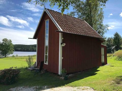 Kyrkviken - en pärla i Bergslagen med sjötomt.