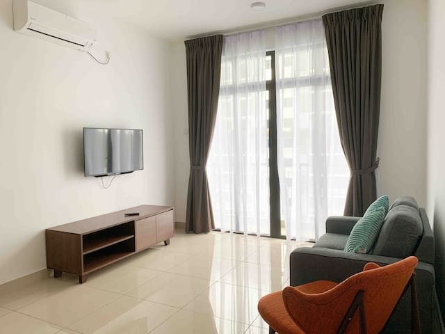 Desaru Apartment with Pool View (wifi available)