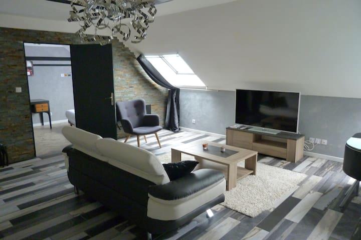 appart hotel jacuzzi - Noyelles-Godault - Pis