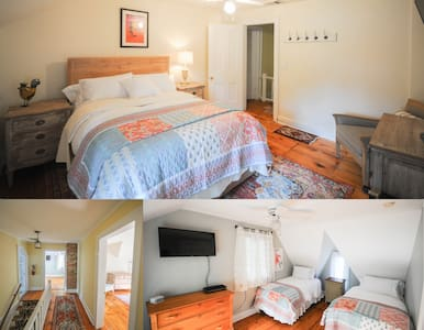 The Gables of Rhinebeck Inn, Rockhouse Suite (2BR)
