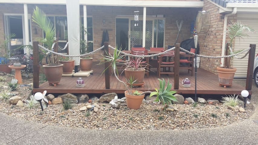 BBQ and Deck for your enjoyment