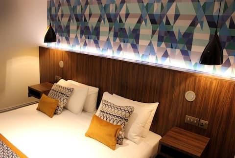 Luxury one bedded studio apartment in Jesmond
