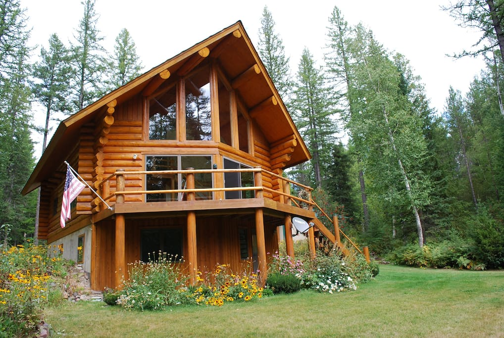 Astrid The Quintessential Montana Log Cabin Cabins For