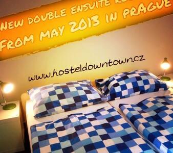 Private ensuite double room - Praga