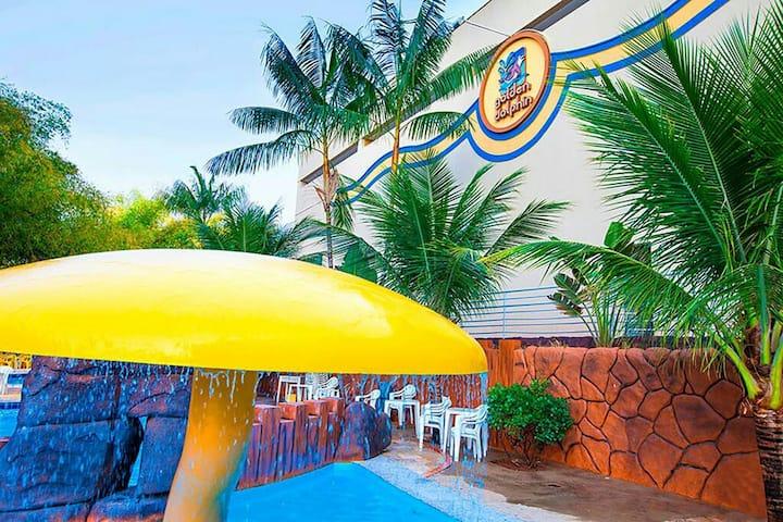 Suíte ( 304) No Hotel Golden Dolphin Grand Hotel