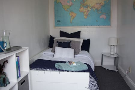 Cozy Private Studio Bedroom w/ NYC Views & Bikes - Jersey City - Wohnung