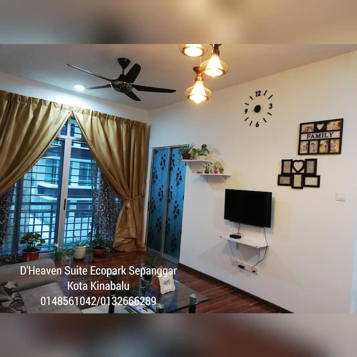 D'Heaven Suite, Bukit Sepanggar, Kota Kinabalu
