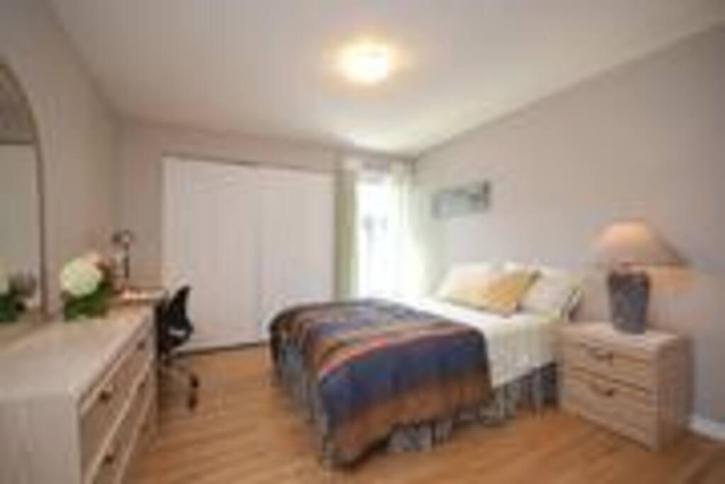 Bright, large, comfy bedroom
