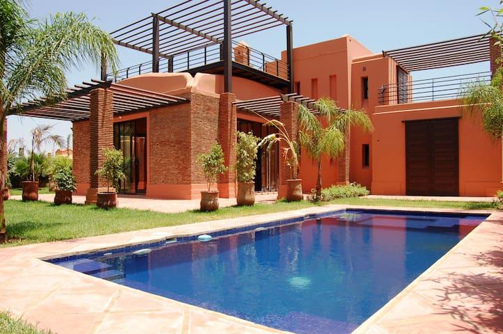 Amelkis Golf Resort, Hattan Villa 68 - Marrakesh - Dům