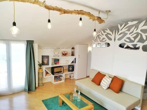 Licht appartement in Loano