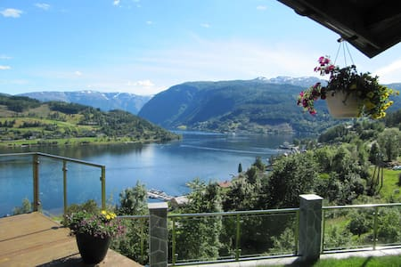 A rare spot in Norway with fjord view supreme - Ulvik