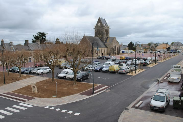 Gite le Sainte Mére Eglise - Sainte-Mère-Église - Apartment
