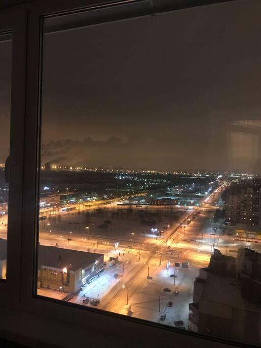 вид из окна / the view from the window