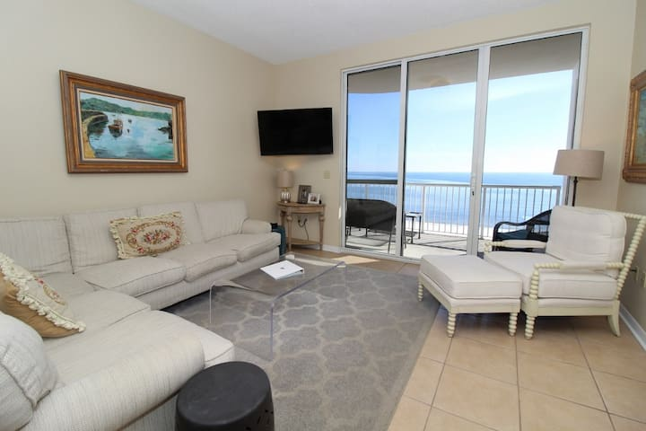Spanish Key 603- Beach Front Views from Terrace with Luxurious Interior!