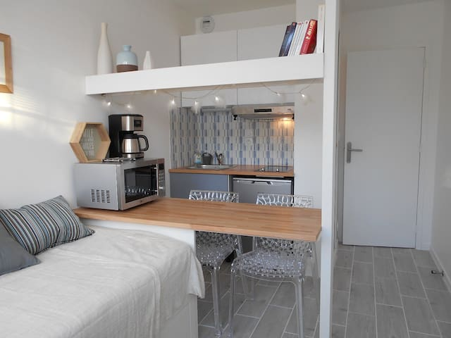 Njörd, a cosy studio flat a few steps from the sea - Dinard