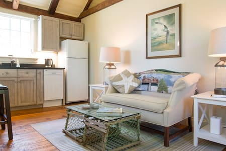 Loft carriage barn apartment off Dock Square