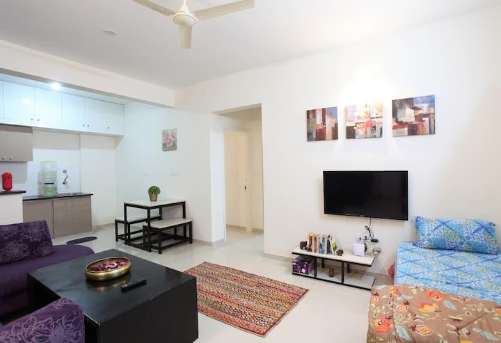 Large house for 7 near electronic city. bangalore