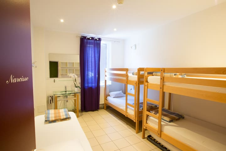 Chambre de 5 personnes avec 1/2 pension incluse - Saint-Privat-d'Allier - Outros