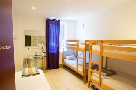 Chambre de 5 personnes avec 1/2 pension incluse - Saint-Privat-d'Allier