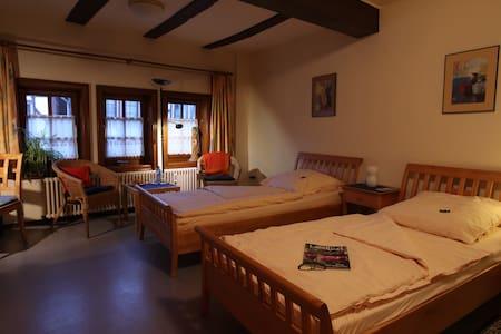 Hochzeitshaus Zimmer 2 - Schotten - Bed & Breakfast