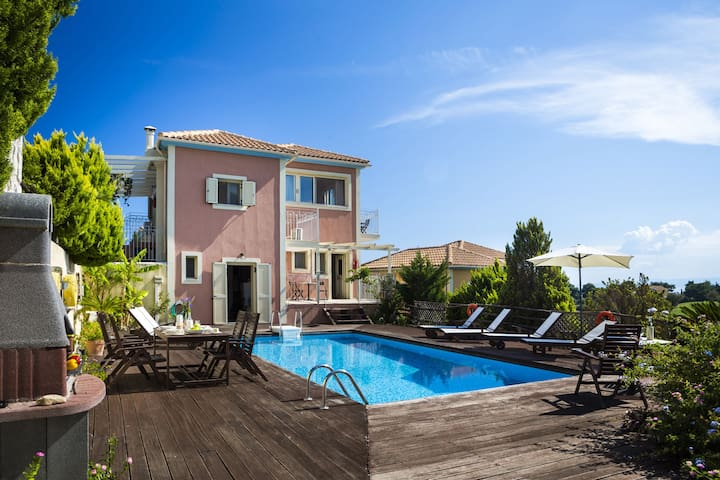Colorful Design Holiday Villa Mary - Skala - Vila