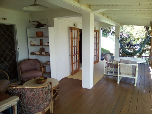 Apartment veranda