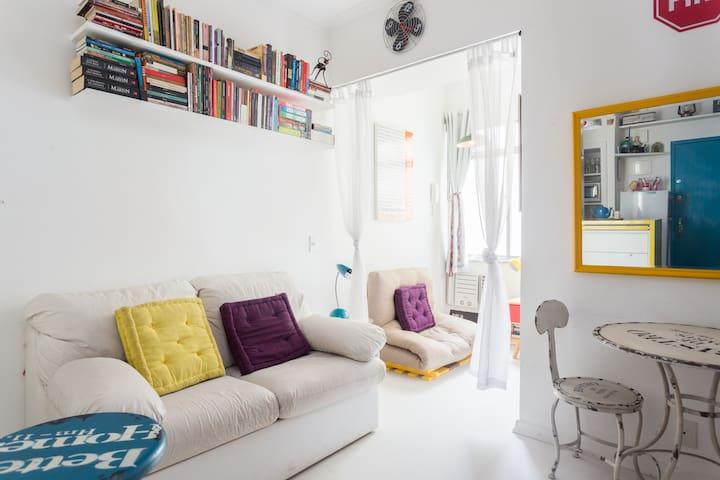 Cozy and silent loft in Lapa - Rio de Janeiro