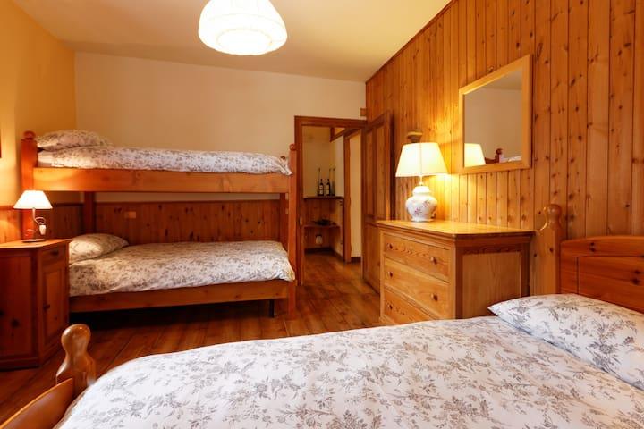Charming Apartment in Alagna centre - Alagna Valsesia - Casa