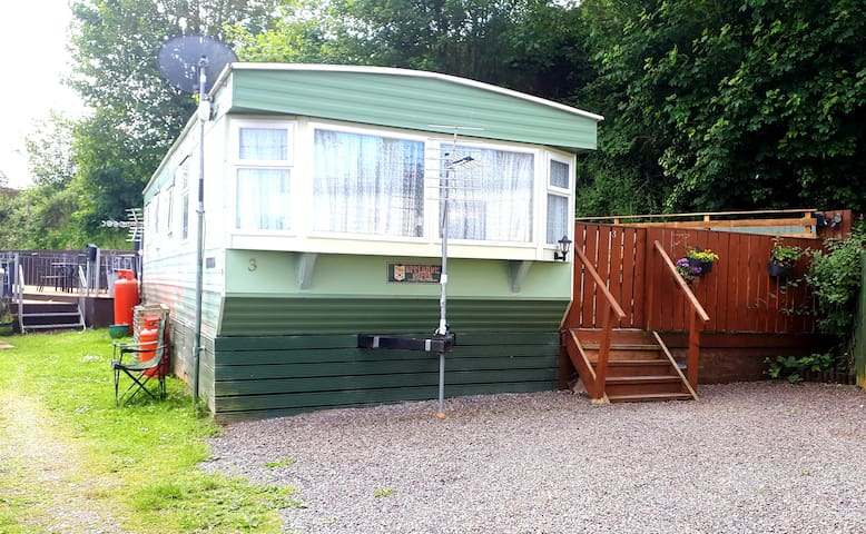 Aberyswyth Static Caravan by the sea