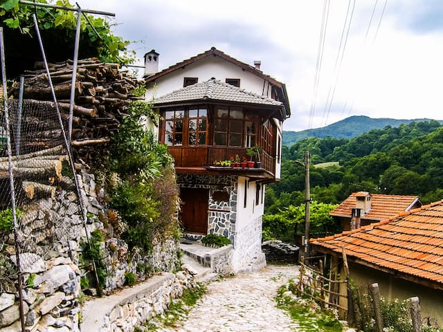 Traditional Bulgarian House with  Mountain View