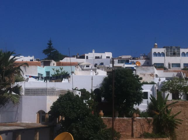 Casbah de l'Oudaya Vue de notre Terrasse