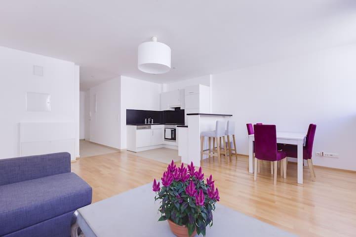 Modern, bright Apartment near Naschmarkt & Centre