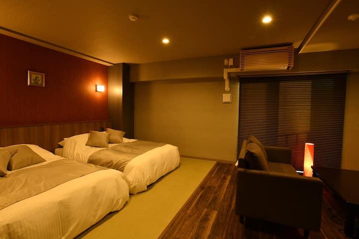 hotel Imari aioibashi bettei Twin Deluxe