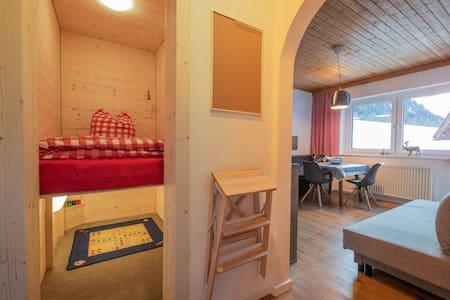 Feierabends Ferienhaus - FeWo Alpenveilchen