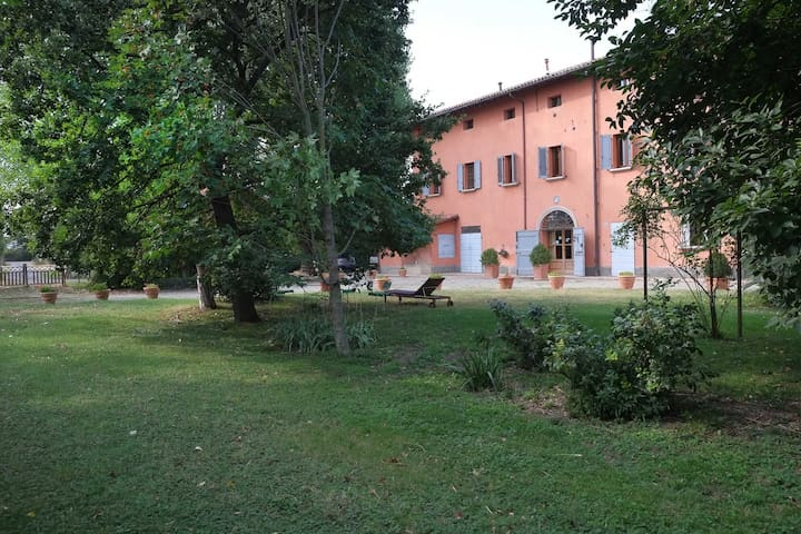 Country  B&B Prato dei Conigli: double room - Castelfranco Emilia - Oda + Kahvaltı