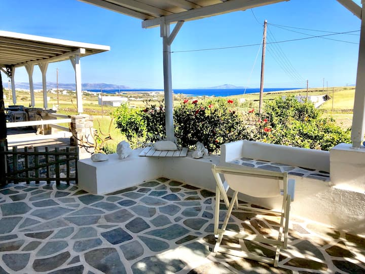"""Cosy Luxury Studio """"Pounta""""  Seaview @Golden Beach"""