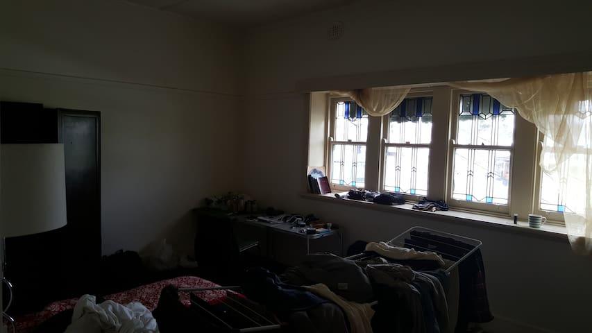 Big Bright room above shop