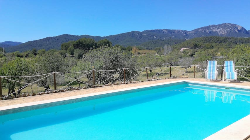 Charming Majorcan house with pool - Palma - Willa