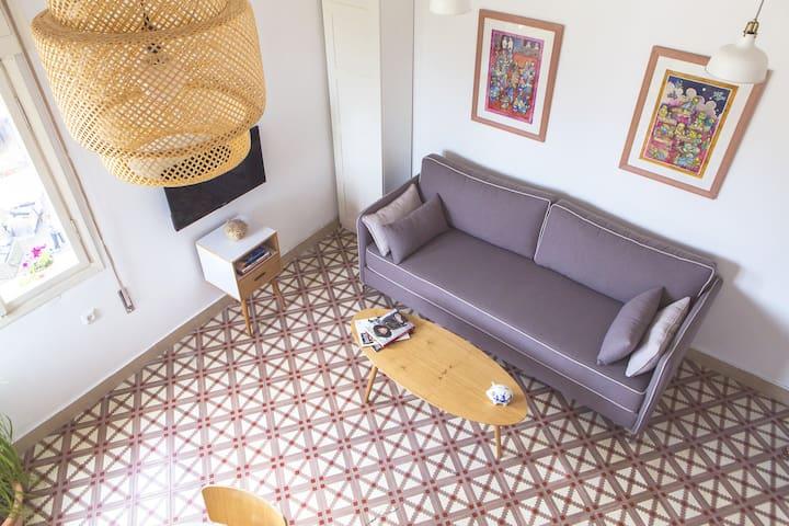 Sunny Home in Tel Aviv's Center - Tel Aviv-Yafo - Byt