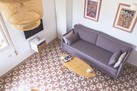 Sunny Home in Tel Aviv's Center - Tel Aviv-Yafo - Apartment